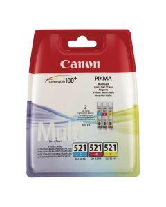 Bläckpatron CANON CLI-521C/M/Y