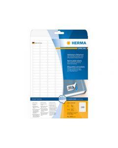 Etikett HERMA Movable 25,4x10mm 4725/FP