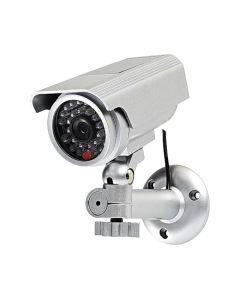Övervakningskamera attrapp NEDIS Silver