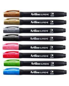 Märkpenna ARTLINE Supreme 8 färger
