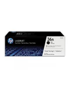Toner HP CB436AD Svart 36A 2/FP