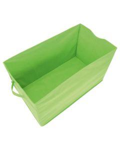 Förvaringskorg stor i tyg, grön.