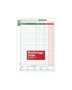 Blankett bokföringsorder A4 50 blad
