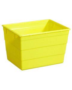 Riskavfallsbehållare 25l gul