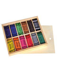 Vaxkrita 12x12 färger