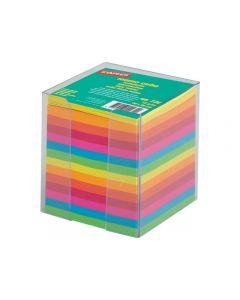 Blockkubhållare m.refill randig 90x90x90