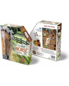 Head Shaped Puzzles Horse