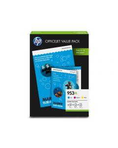 Bläckpatron HP 1CC21AE 953 CMY 3/FP