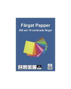 Kop.ppr A4, 80g 10 färger 250/FP