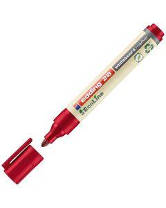 Whiteboardpenna EDDING Eco 28 röd