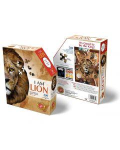 Head Shaped Puzzles Lion