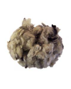 Okardad ull 250g, lockhårig