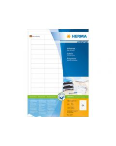 Etikett HERMA Premium 48,3x16,9mm 12800/FP