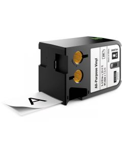 Tape DYMO XTL 41mm Sva på Vit 7m 1868754