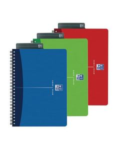 Anteckningsbok OXFORD Essentials A5 rut