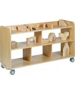 Förvaringshurts GROCARE björk leksaksförvaring
