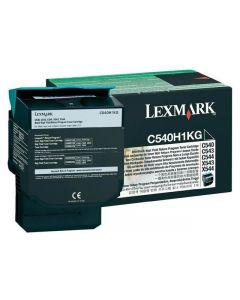 Toner LEXMARK C540H1KG svart