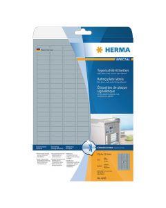 Etikett HERMA Silver 25x10mm 4725/FP