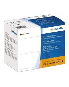 Etikett HERMA Frankering 130x40mm1000/FP