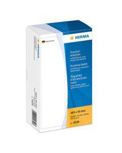 Etikett HERMA Frankering 163x45mm 500/FP