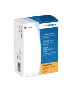 Etikett HERMA Frankering 140x50mm 500/FP