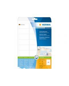 Etikett HERMA Adress 63,5x33,9mm 600/FP