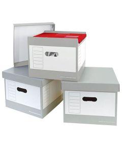 Hängmappsbox med lock 335x305x296mm 2/FP