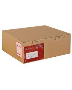 Pressel E-handelslåda 430x300x180mm brun 25/FP