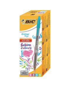 Kulpenna BIC Cristal Fun 1,6 sort.färger