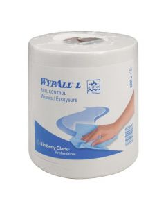 Torkrulle WYPALL® L10 1-lag vit 228m/rl