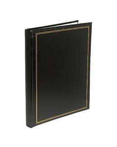 Fotoalbum vinyl svart