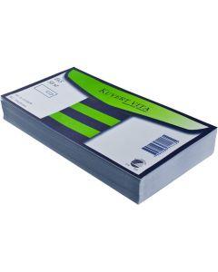 Kuvert konsument fp E65 H2 vit 50/FP