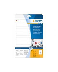 Etikett HERMA Movable 96x16,9mm 800/FP