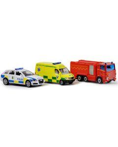 Fordon Ambuland/ Polis/ Barndbil