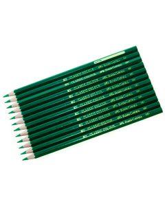 Färgpenna FABER-CASTELL mörkgrön 12/FP