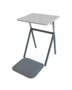 StandUp Elevbord+matta Hög.laminat grå