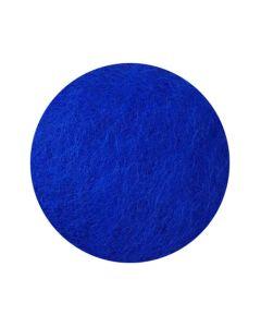 Kardad ull 250g blå