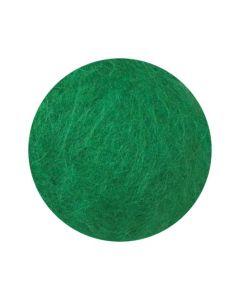 Kardad ull 250g grön