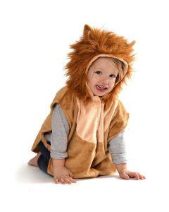Maskeraddräkt Baby cape Lejon