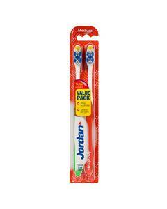 Tandborste JORDAN Total Clean Medium 2/FP