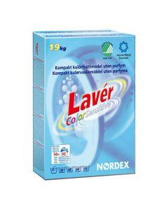 Tvättmedel LAVÉR Color Sens 1,9kg