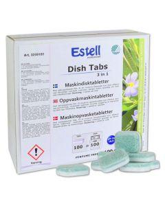 Maskindisk ESTELL tabletter 100/FP