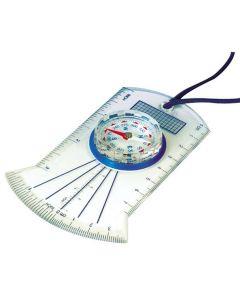 Kompass med linjal