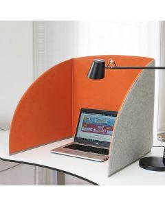 StandUp Bordsskärm BRED 80cm orange