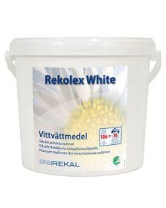 Tvättmedel Rekolex White 4kg