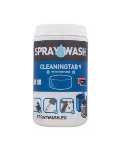 SPRAYWASH Tab 9 med parfym Blå 14/FP
