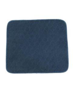 Sittskydd flergångs blå 53x60cm