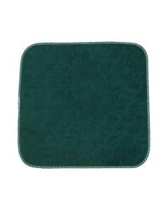 Sittskydd flergångs grön 45x45cm