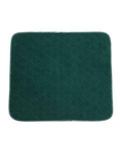 Sittskydd flergångs grön 53x60cm