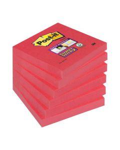Notes POST-IT SuperSticky 76x76mm poppy